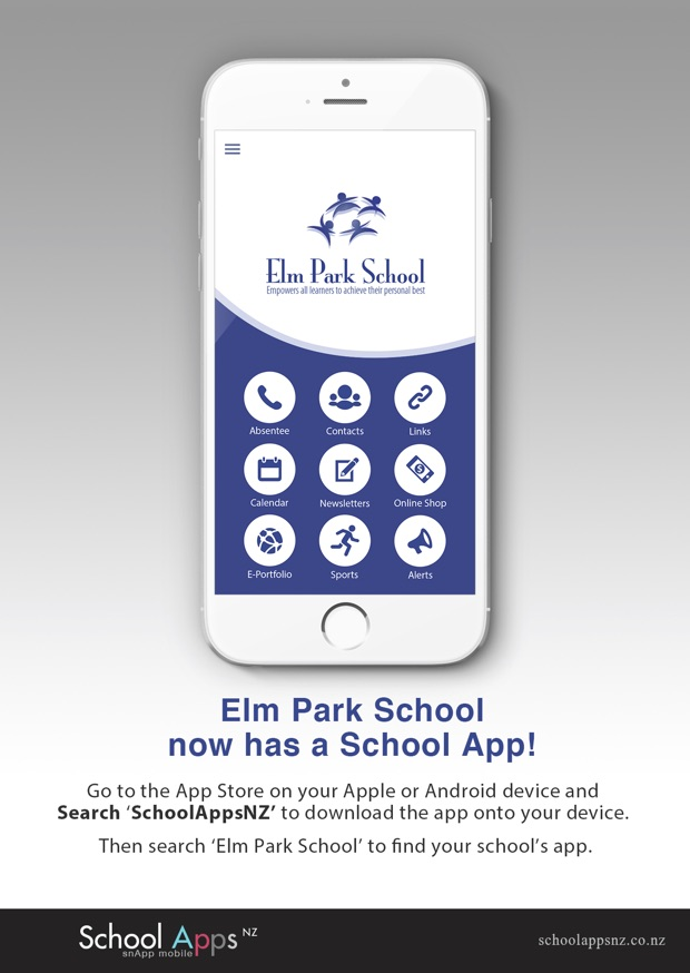 Elm Park School Flyer